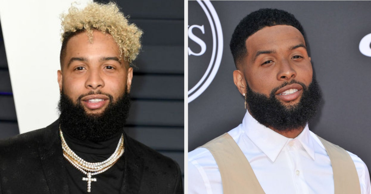 Odell Beckham Jr Cut His Iconic Blonde