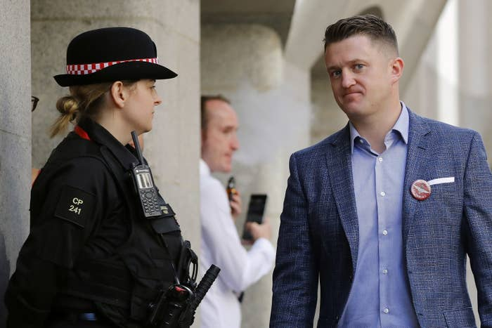 Far-Right Activist Tommy Robinson Has Been Sent Back To Prison For Contempt Of Court