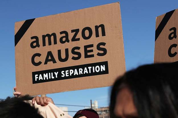 Amazon Employees Demand It Stop Working With ICE. The Company Said It's Up To The Government.
