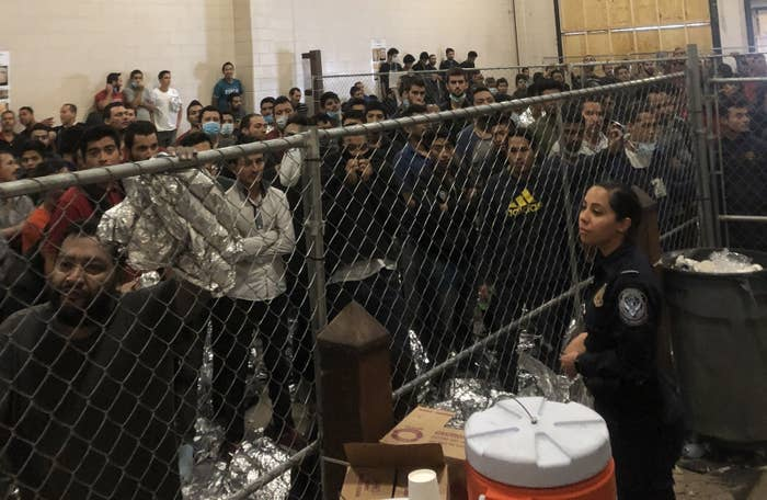 """The Stench Was Horrendous"": Pence Visited A Border Patrol Station Packed With Hundreds Of Immigrants In Cages"