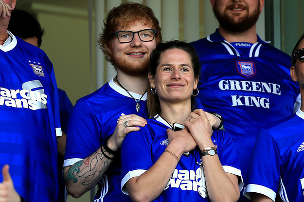 Ed Sheeran Just Casually Confirmed That He's Married, And Um, Excuse Me?