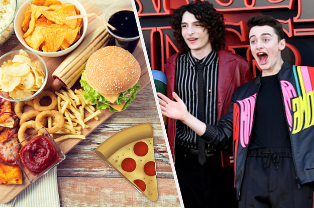 Choose Your Favorite Junk Food Items And We'll Reveal If You're More
