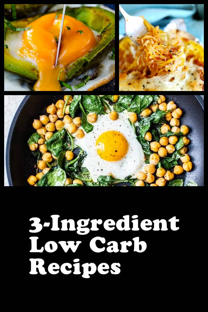 18 Practical Low-Carb Meals That Only Need 3 Ingredients