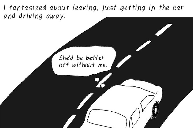 This Artist Created A Postpartum Depression Graphic Novel To Illustrate How Heartbreaking It Really Can Be