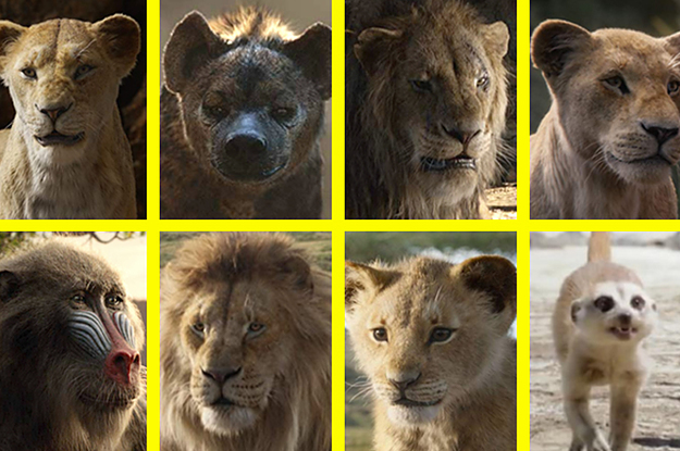"I Guarantee You Can't Actually Identify All ""The Lion King"" Characters On This Image"