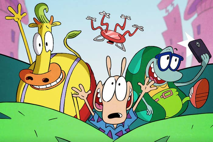 "The ""Rocko's Modern Life"" Movie Is Coming To Netflix And Holy Nostalgia, Y'all"