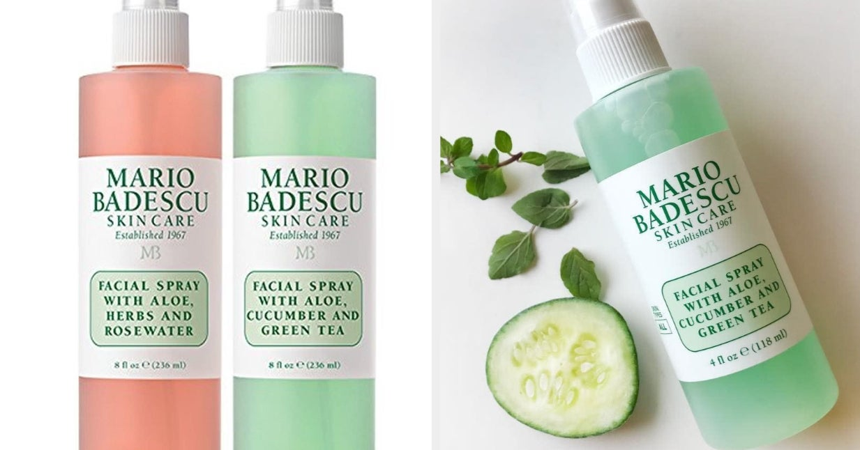 Mario Badescu Facial Sprays Are On Sale And Wow I Love