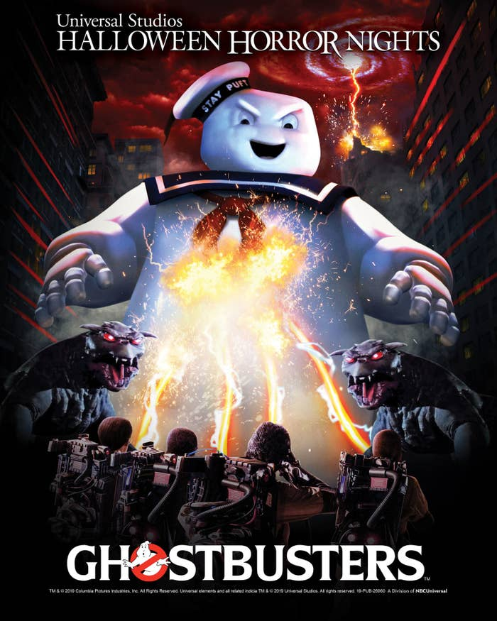 """Ghostbusters"" Is Coming To Halloween Horror Nights And My Only Advice Is: Don't Cross The Streams!"
