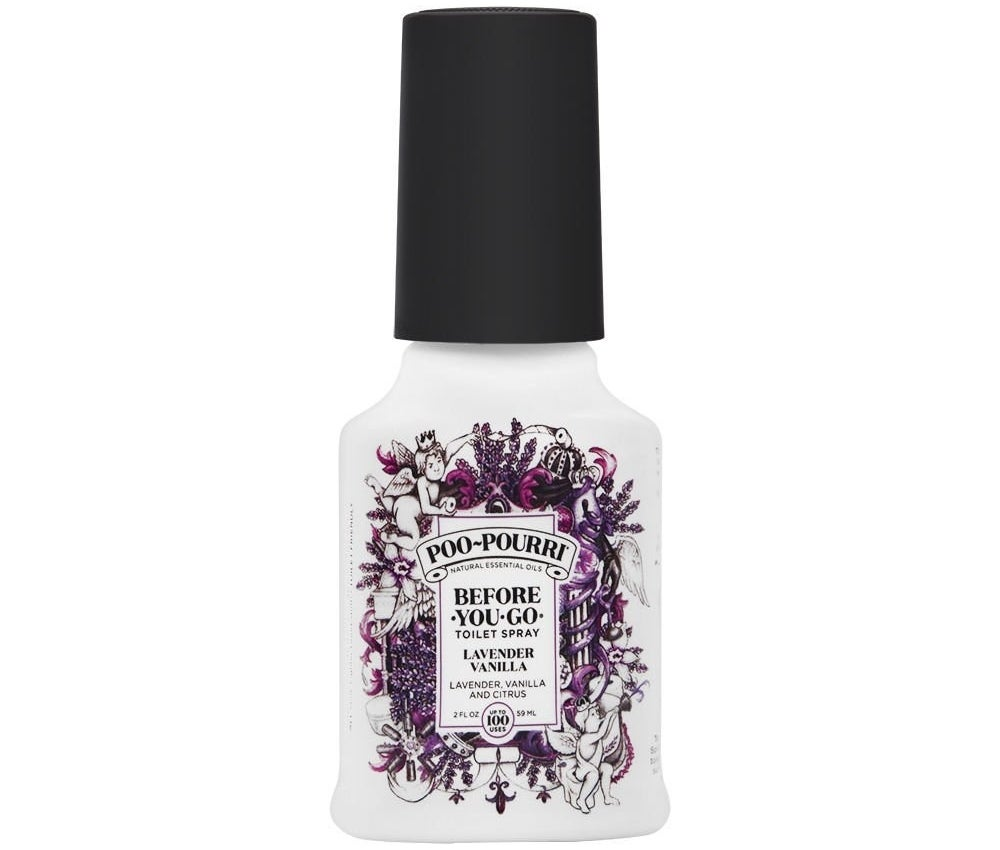 Lavender vanilla spray bottle