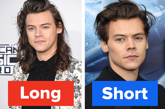 You Decide: Do These Male Celebs Look Better With Long Or Short Hair?