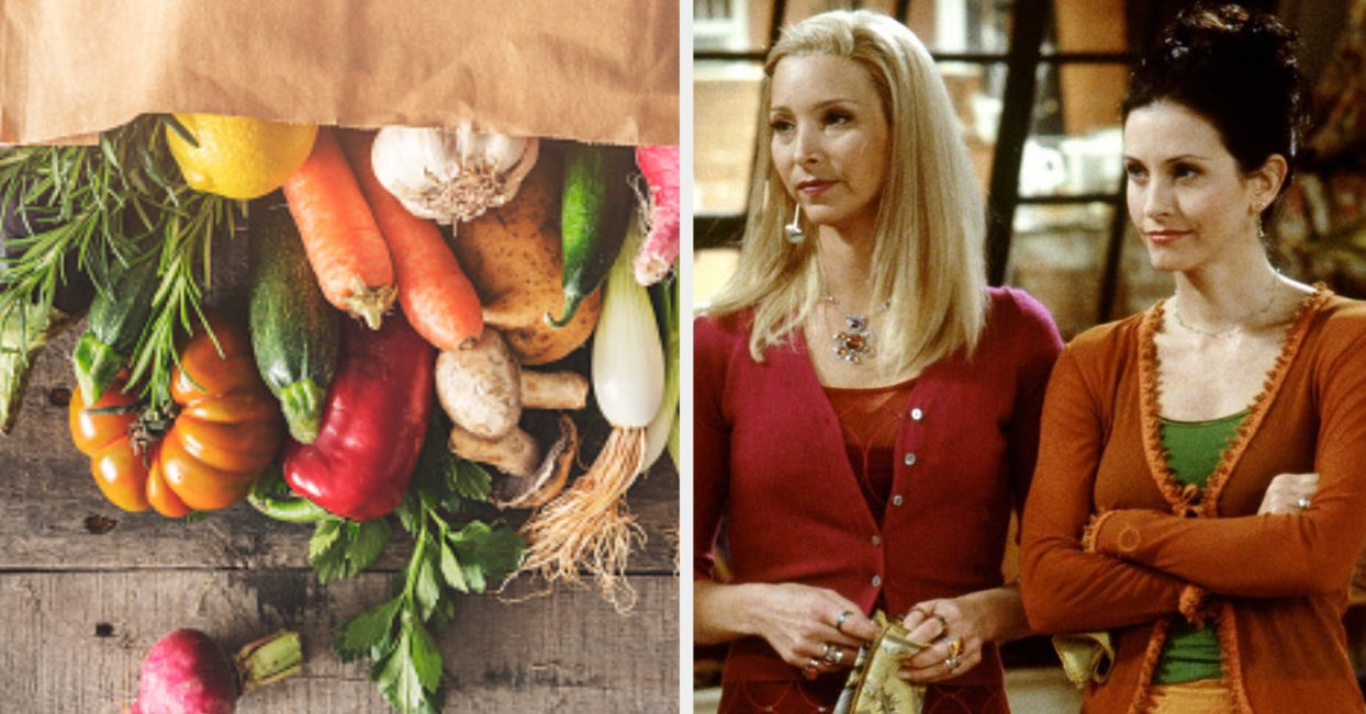 "Go Grocery Shopping And We'll Reveal Which ""Friends"" Character You Are"
