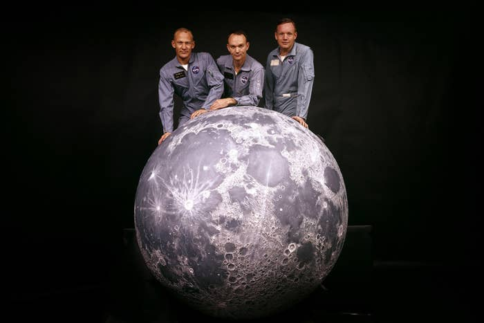 25 Photographs to remember the first time man arrived on the Moon 1