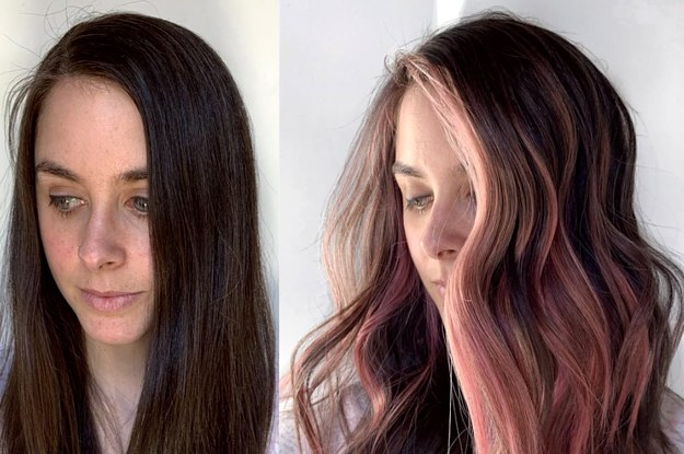 Summer Hair Ideas Rainbow Hair Pastel Hair Underlights