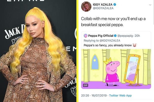 Iggy Azalea And Peppa Pig Are