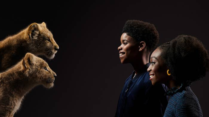 The Actors Who Played Young Simba And Nala In The Lion King