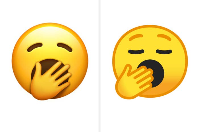 New Emojis On iPhones Vs  Androids 2019