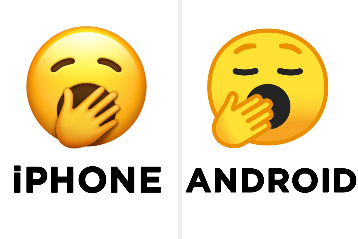 In Honor Of World Emoji Day, Here's What 15 New Emojis Look Like On iPhone Vs. Android