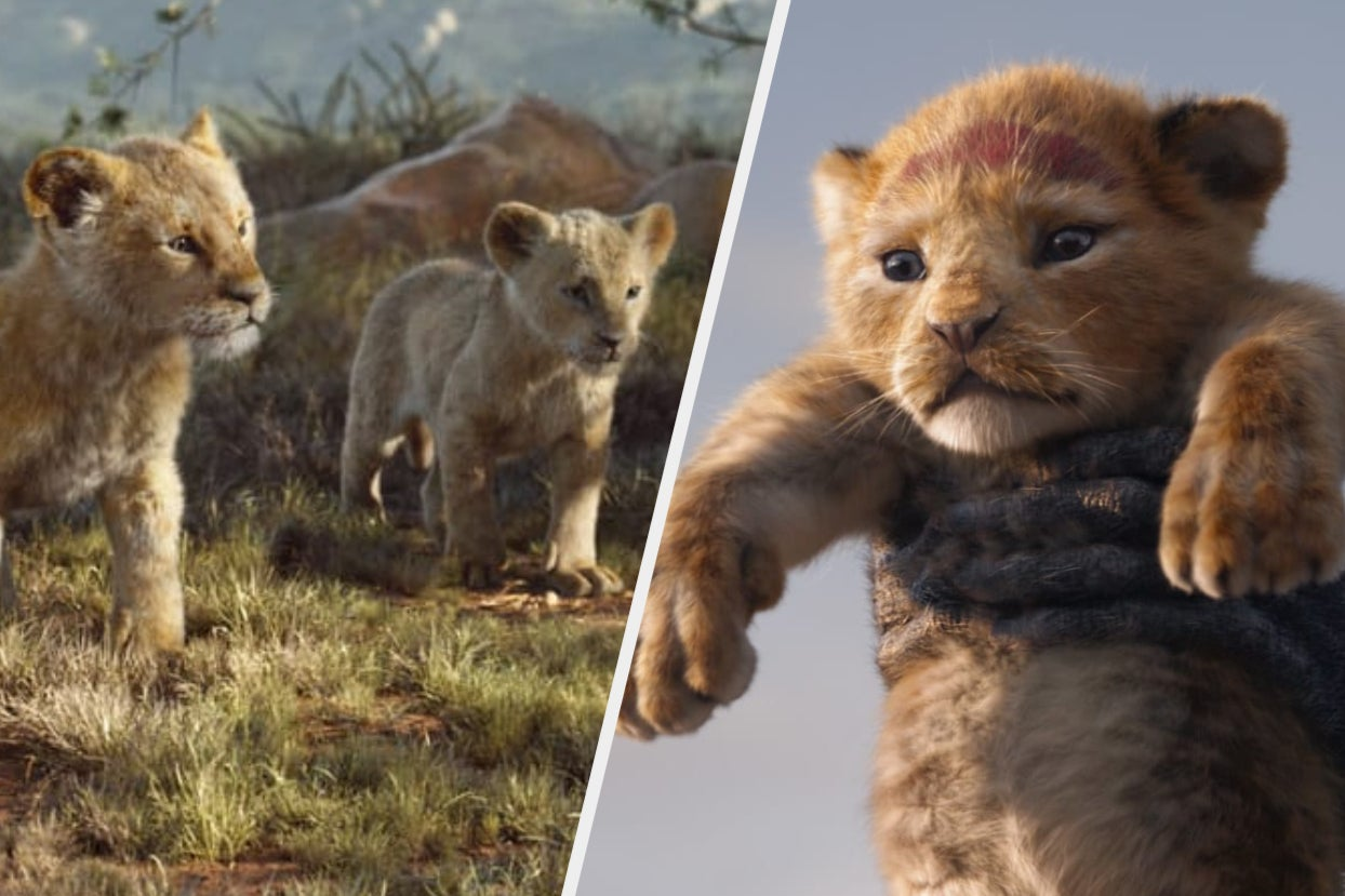 """The Young Simba And Nala Actors In """"The Lion King"""" Said They """"Tried To Keep It Really..."""