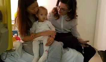 This 15-Month-Old Girl Has Spent Her Whole Life In Detention. She's In Hospital With The Flu