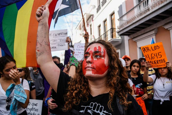 These Dramatic Pictures Show The Huge Protests Against The Puerto Rico Governor