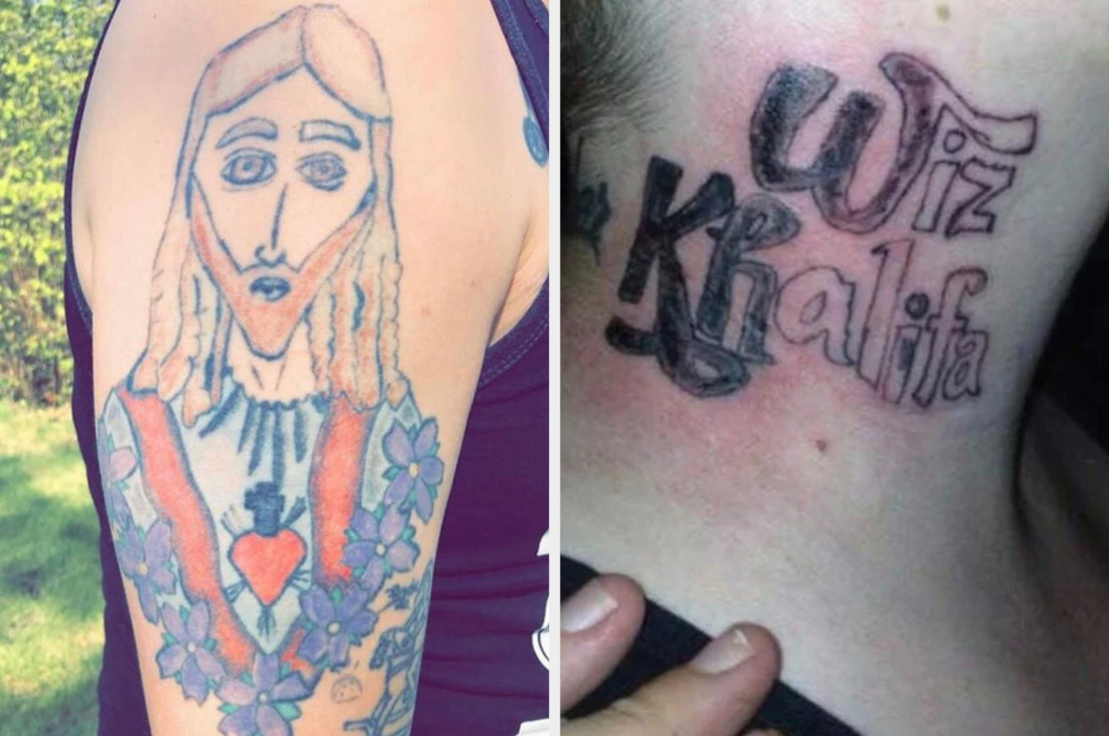 17 Bad Tattoos That People Really Really Regret