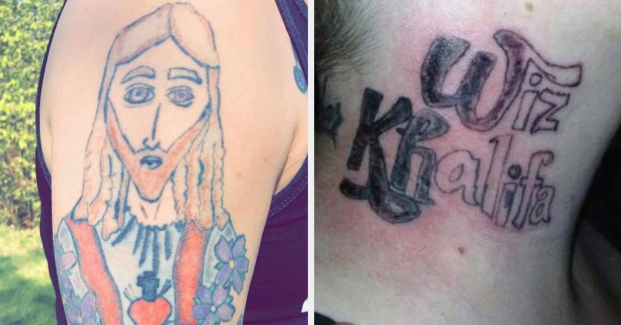 17 People Who Got A Tattoo Then Quite Possibly Passed Out After They Saw It
