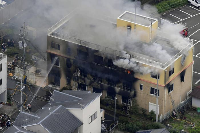 33 People Have Died After A Suspected Arson Attack At A Japanese Animation Studio