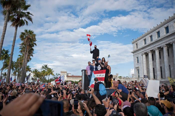 Julián Castro Is The First Democratic Presidential Candidate To Call For Puerto Rico's Governor To Resign Over Mass Protests
