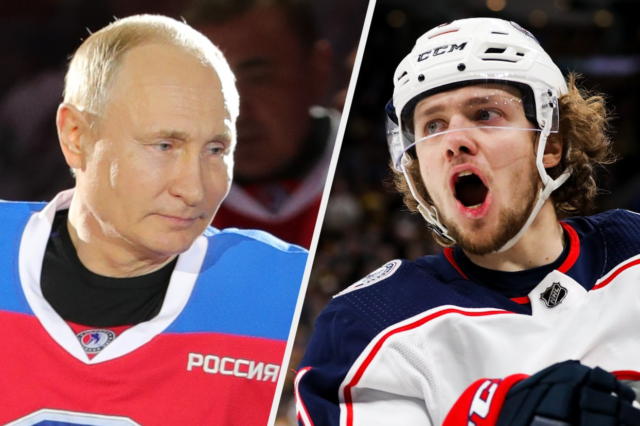 A Russian Hockey Player Actually Spoke Out Against Putin In An Interview