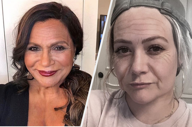 """21 More Celebs Who Have Posted Their """"Old"""" FaceApp Pics On Instagram"""