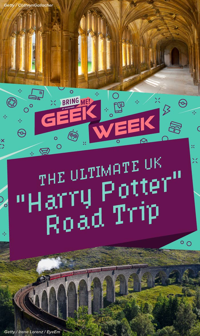 "Here's How To Do The Ultimate UK ""Harry Potter"" Road Trip"