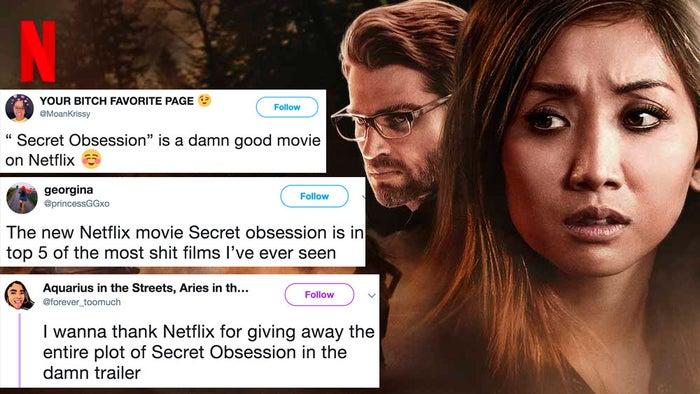 netflix has a new movie called  u0026quot secret obsession u0026quot  that