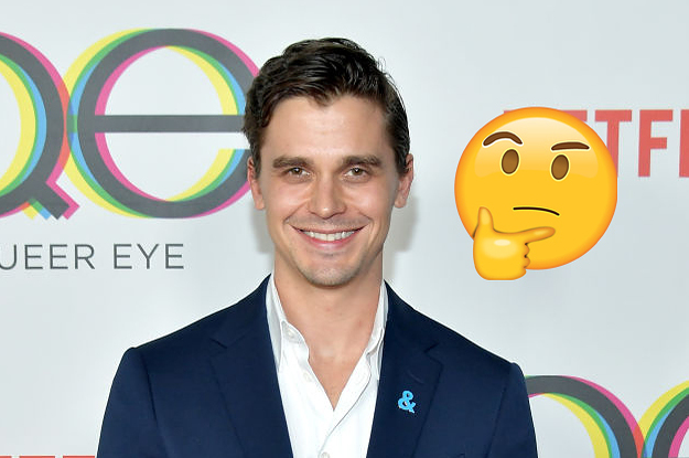 Sooooo….Antoni Porowski Only Washes His Hair Every Two Weeks And I Don't Know What To Think Of That
