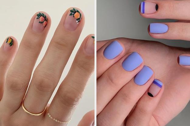 19 Summer Nail Art Designs For Anyone With Short Nails