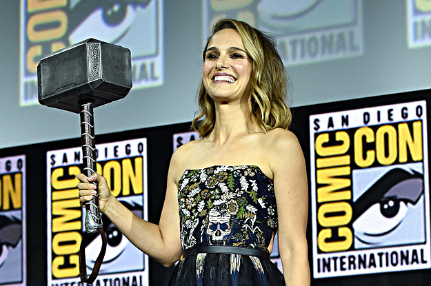 Natalie Portman Will Wield The Hammer As The Mighty Thor In The New Movie