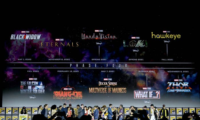 Marvel Just Announced A Ton Of Upcoming Movies And It's
