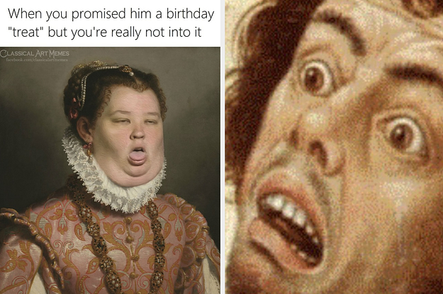 These 50 Classical Art Memes Will Have You In Literal Hysterics