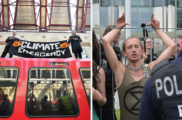 Extinction Rebellion Shut Down London To Shock People Into Facing The Reality Of Climate Change. That Was Just The Beginning.