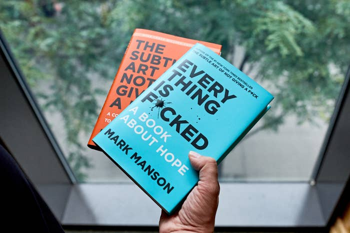Image result for Every Thing is F*cked Mark Manson