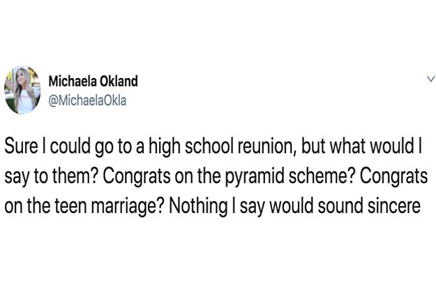 19 Funny Tweets About High School