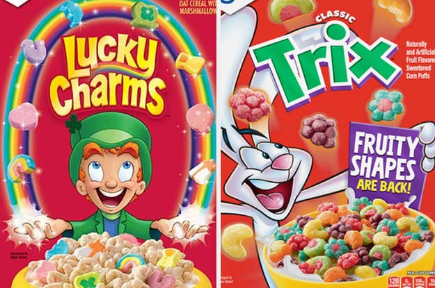 This Cereal Quiz Will Successfully Guess Your Age And Eye Color