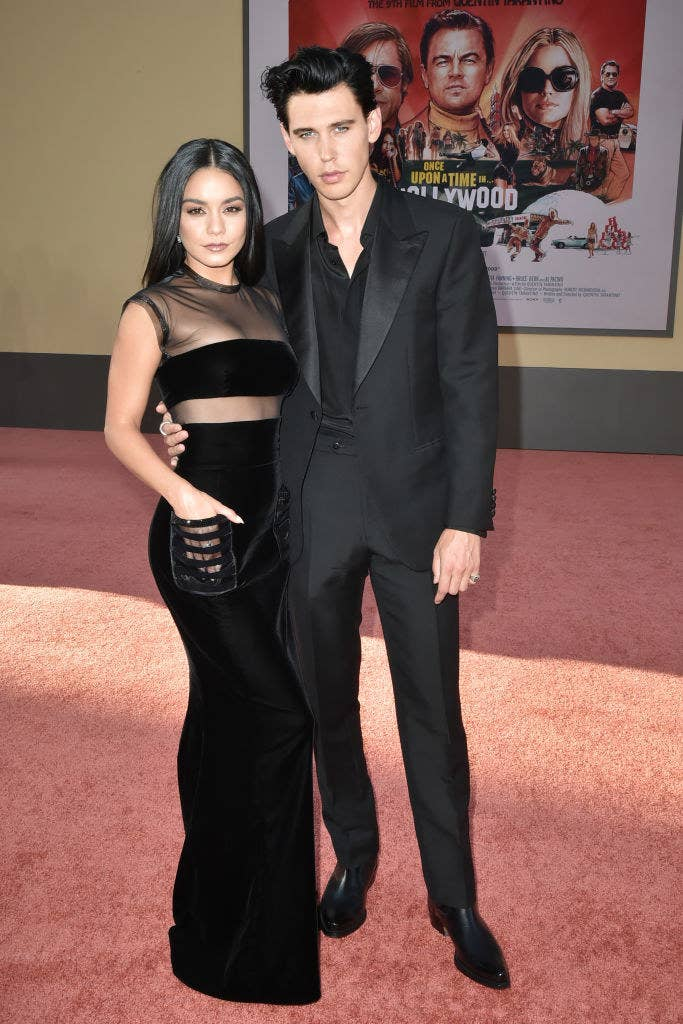 I Can't Get Over How Good Vanessa Hudgens And Austin Butler Looked At This Movie Premiere