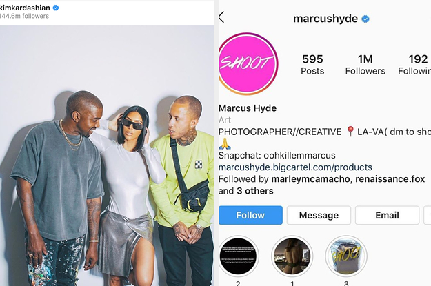 Instagram Has Taken Down Marcus Hyde's Account After He Was Called