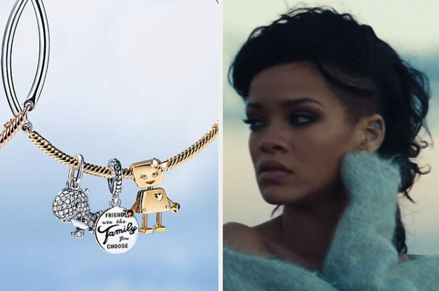 Which Rihanna Song Should You Listen To Based On The Jewelry You Get From Pandora?