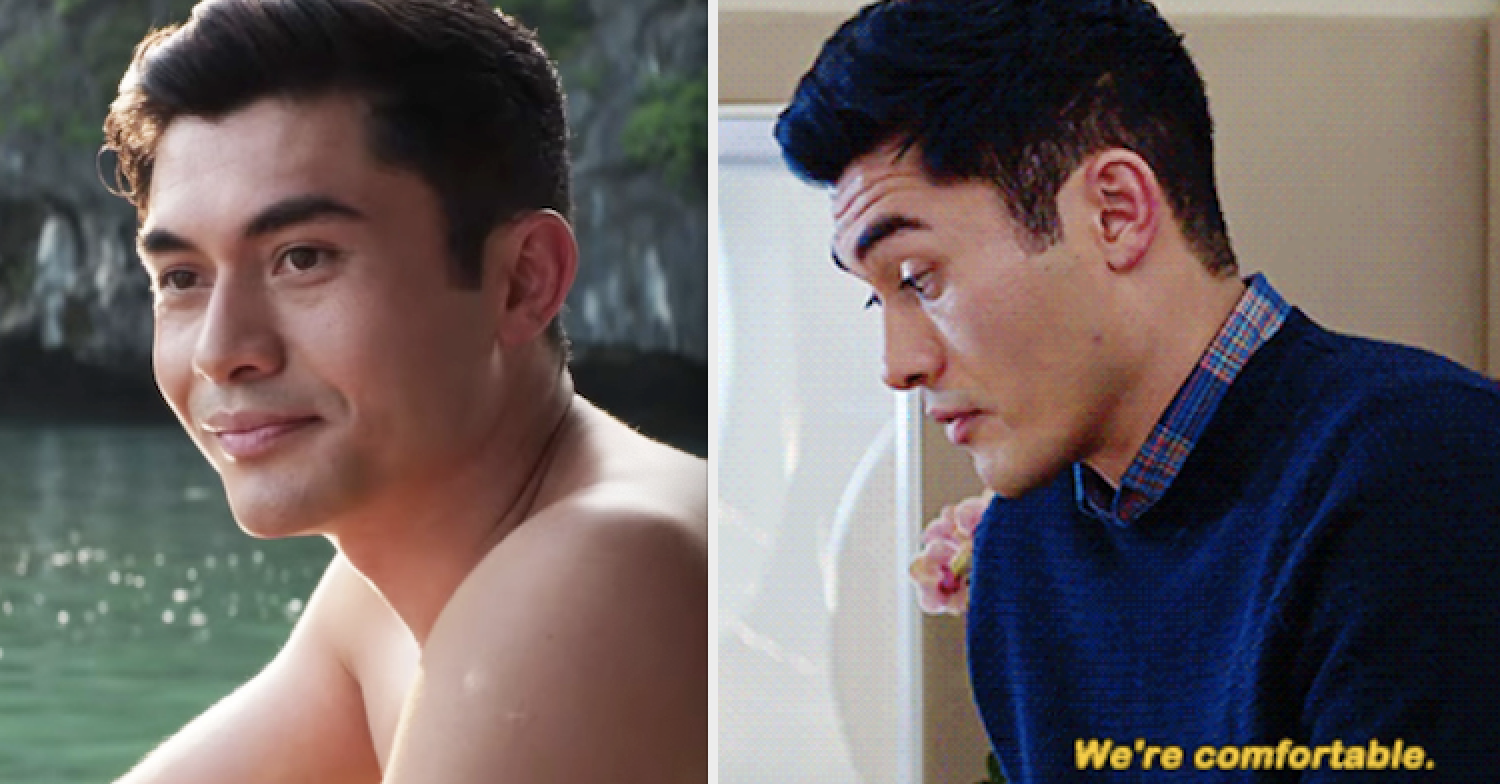 "Henry Golding in ""Crazy Rich Asians"""
