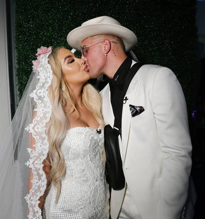 Jake Paul And Tana Mongeau Actually Got Married And I'm At