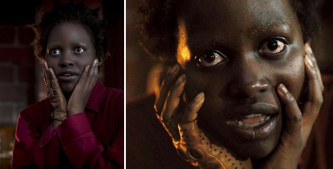 "Lupita Nyong'o in ""Us"" as the character Red"