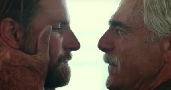 "Bradley Cooper and Sam Elliott in ""A Star Is Born"""