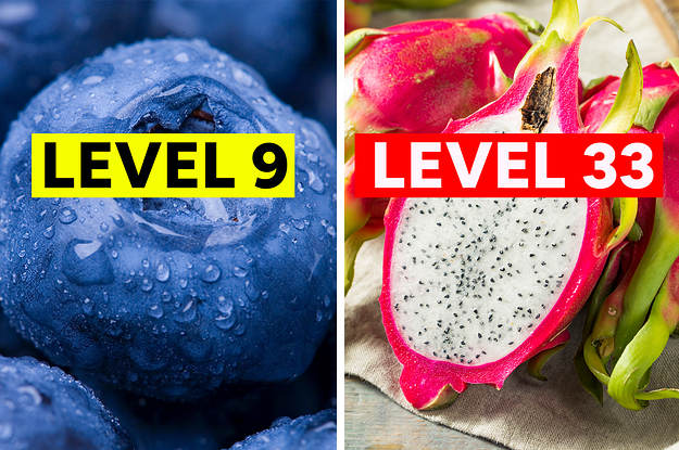 This Never-Ending Food Quiz Will Definitely Eliminate You