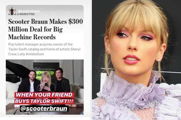 Scooter Braun Bragged About Buying Taylor Swift And Fans Are Furious